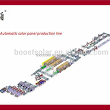 10MW-500MW Automatic PV Panel production Line Solar Module Assembly