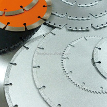 General purpose vacuum brazed diamond saw blade with high sharpness
