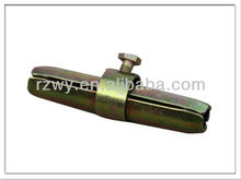 steel pipe clamps Scaffolding Pressed Internal Joint Pin Coupler with EN74