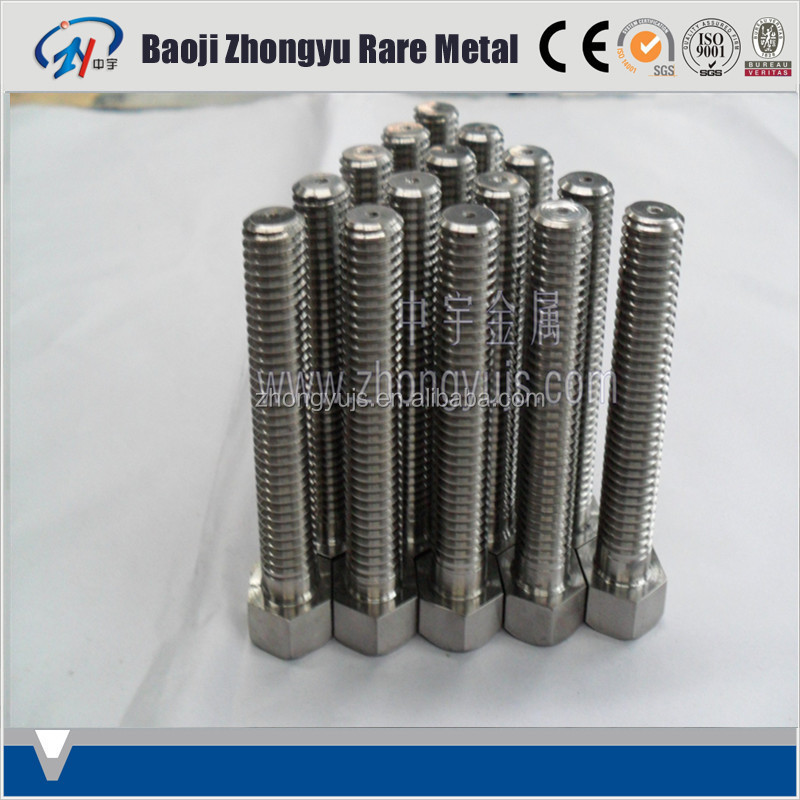 high strength gr5 titanium screws and nut