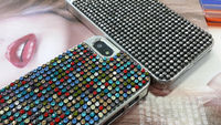 Crystal Bling phone Case,Mobile Phone Accessories Dubai,Rhinestone Bling Bling Case for iPhone 5 5S 4G/4S 5C amazon.com
