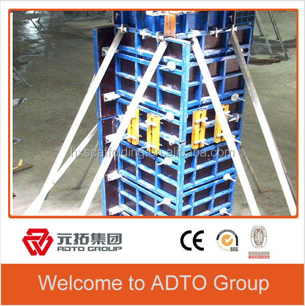 Easy to Operate Steel Concrete Formwork