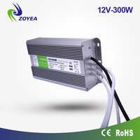 high quality IP67 waterproof constant voltage12v 30a 360w led switching power supply FSV-300-12 12V 300w CE&ROHS certificated