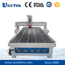 ACCTEK 8pc linear tool changer metal moulding machine / cnc router vacuum pump 1530 2040