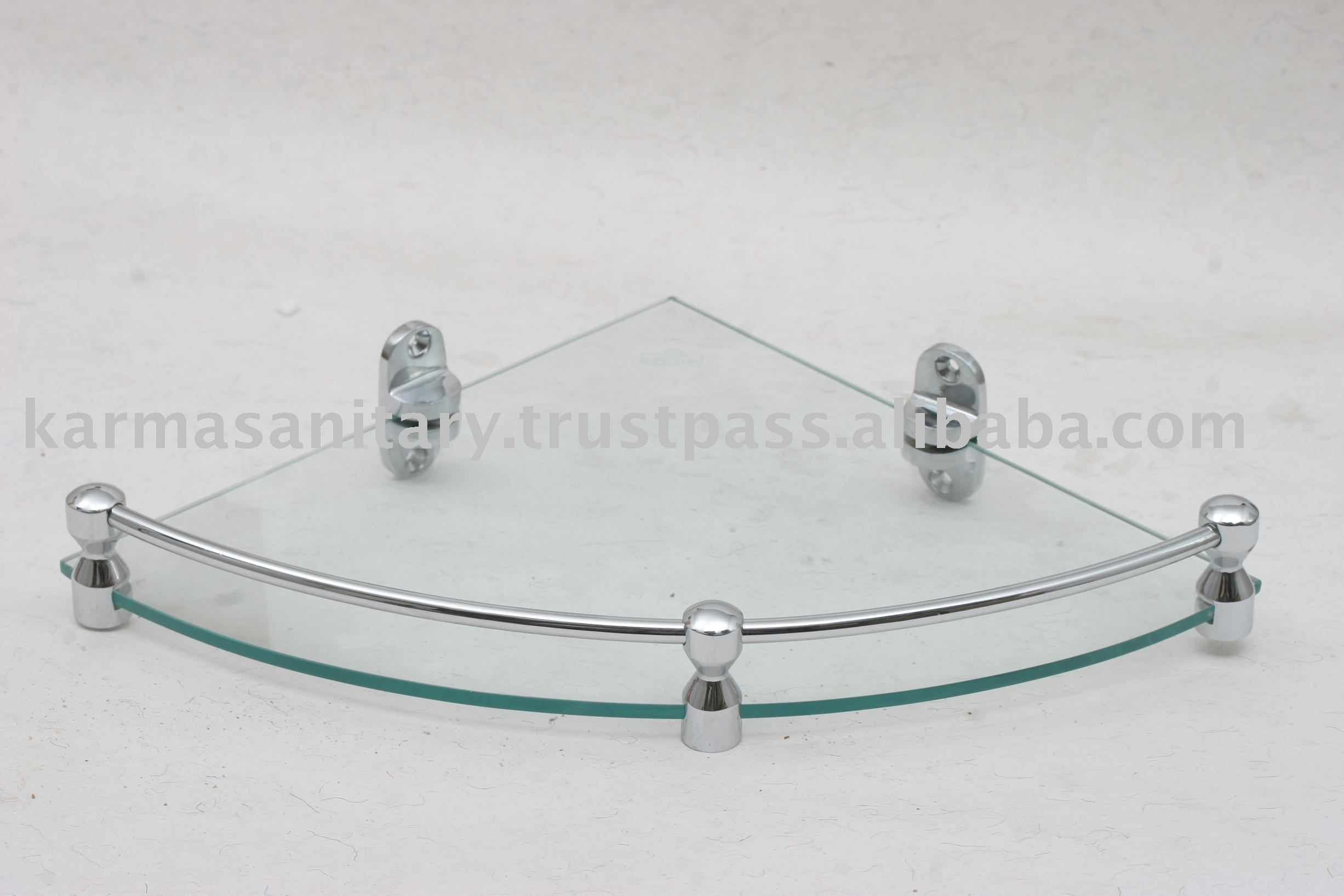 Bathroom Corner Glass Shelves - Buy Corner Shelves,Bathroom ...