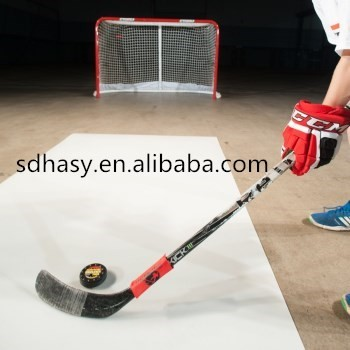 shotting pad , 2017 uhmwpe white plasctic exercising ice hockey board / hockey coach board foe sale