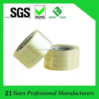 Waterproof Acrylic Carton Sealing Clear Adhesive Bopp Tape