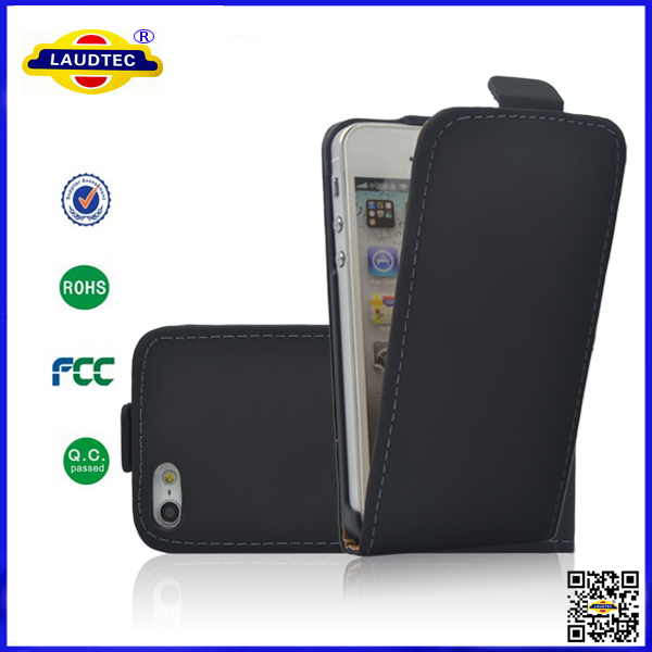 Luxury PU Flip Ultra Slim Leather Magnet Cover Case for iPhone 4 Laudtec