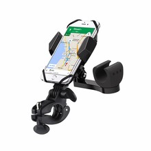 2017 Wholesale Handlebar Cell Phone Mount Bicycle Starp Mobile Motorcycle Bike Phone Holder