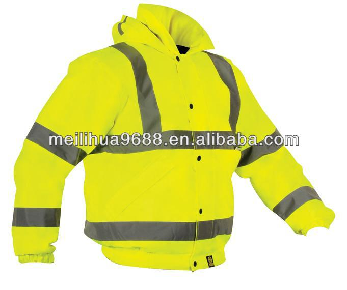 3M High Visibility Waterproof Windbreaker Nylon Reflective Clothing