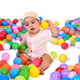 Guangzhou Factory kids water pit ocean ball soft toy Eco-friendly PE plastic sea Ball