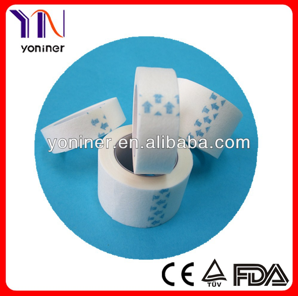 Medical micropore non woven paper tape white & skin colour