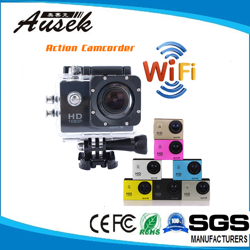 1.5Inch Wireless Video Camera 12MP 1080P HD Kamera With Waterproof Case and Accessories