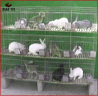 China Cheap Outdoor Metal Vertical Rabbit Cages And Rabbit House For Female/Baby Rabbit(H type ,alibaba supplier,Made in China)