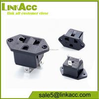 LKCL30 Two flat hole industrial socket China US Japan Taiwan socket