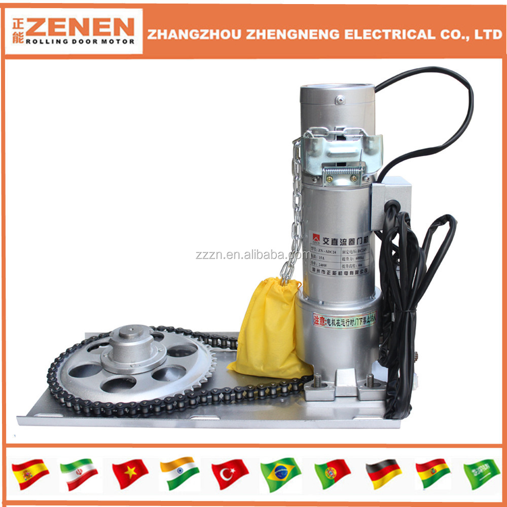 Dc 400kg Electric Rolling Shutter Door Motor Roller