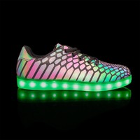 New APP controlled led wholesale shoes in china free shipping