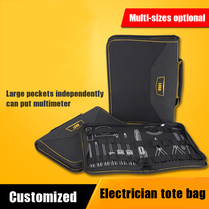 Professional PU leather tools bag & Hand Carry electrician Case