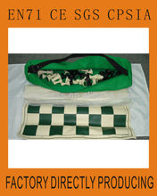 Travel Chess Set Made From Vinyl Plastic And Cloth
