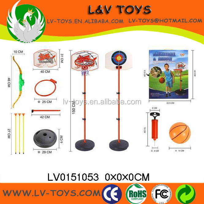 LV0151053 Plastic Sport Fun Outdoor And Indoor Toy Kids Mini Basketball Game Toy Set