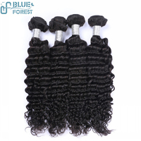 Quick delivery wholesale human hair extensions, aliexpress unprocessed Peruvian loose deep wave
