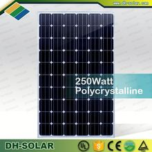 Stock panels cheap sale 250 watt solar panels pv module