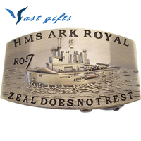 HMS ARK ROYAL RO-7 AUTOMATIC BELT BUCKLE
