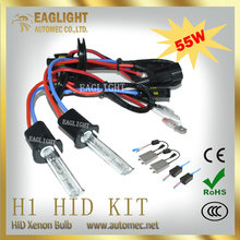 Top consumable products Single beam H1 12V55W xenon hid headlight hid xenon kit