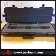 ip67 waterproof large Plastic Rolling tool box with foam