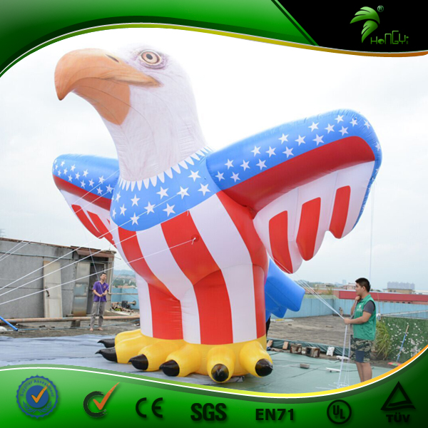 Giant Inflatable Eagle Inflatable Zoo XXXL 5.5m H Animal Parade Balloon Inflatable Realistic Toy
