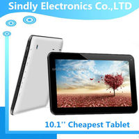 Cheapest 10.1 inch super slim metal case tablet with big RAM & ROM