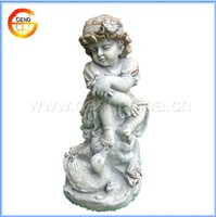 Hot selling Resin small angel figurine decoration