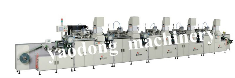 YD-SPA/F300R-5C Five color Automatic Roll-to-Roll screen printing supplies & UV Curing system