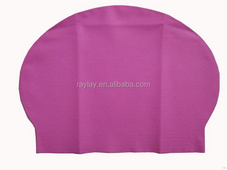Quality top sell latex swimming caps wholesale