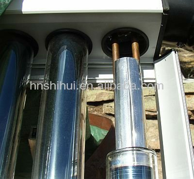 industrial high pressurizer U-pipe evacuated tubes solar collector