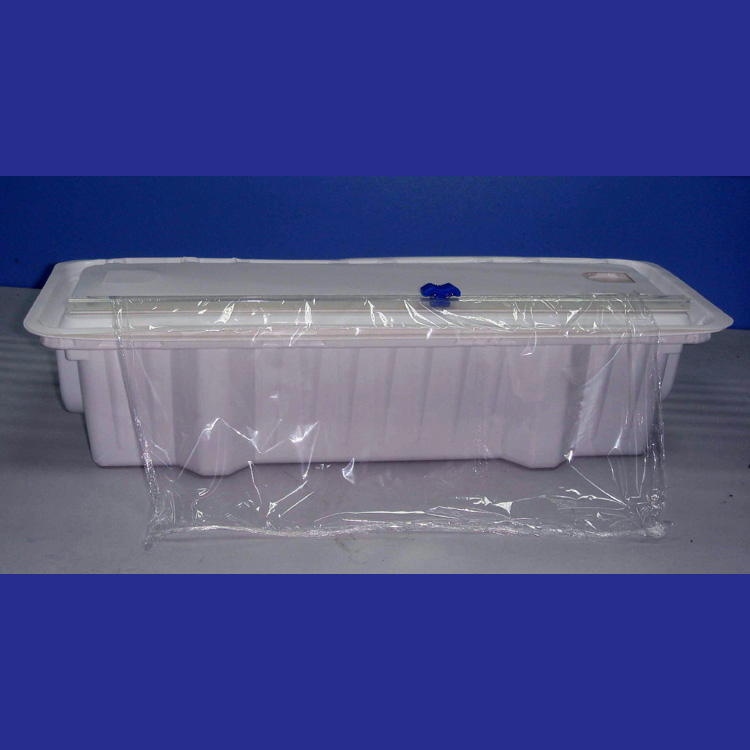 "12"" and 18"" food wrap packing box plastic box"