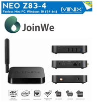 MINIX NEO Z83-4 Intel X5-Z8300 quad core Wintel Win10 4g 32g 4K minix neo z83 smart tv box