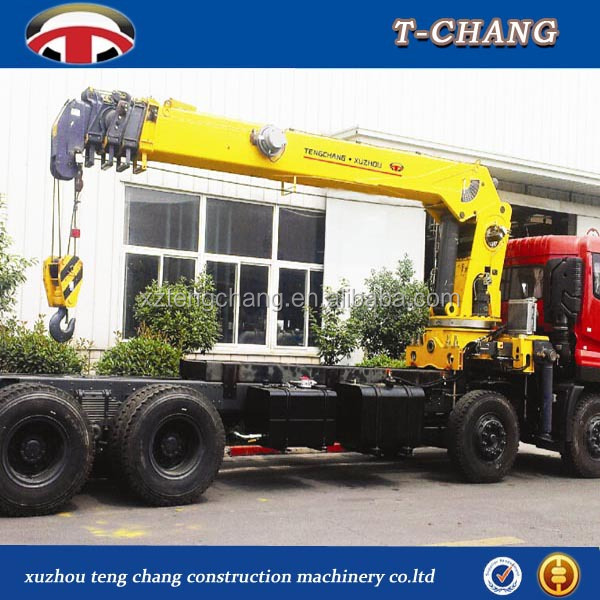 New truck mounted crane size for sale