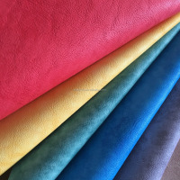 Artificial Leather PU Embossing Cuerina Para