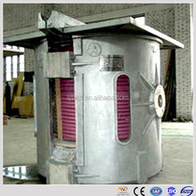 aluminum scrap melting induction electric boiler for metal heating and smelting machine