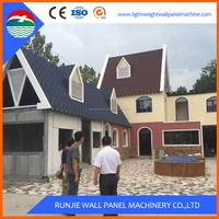 Low Cost Modern Eps Wooden House Prefab House
