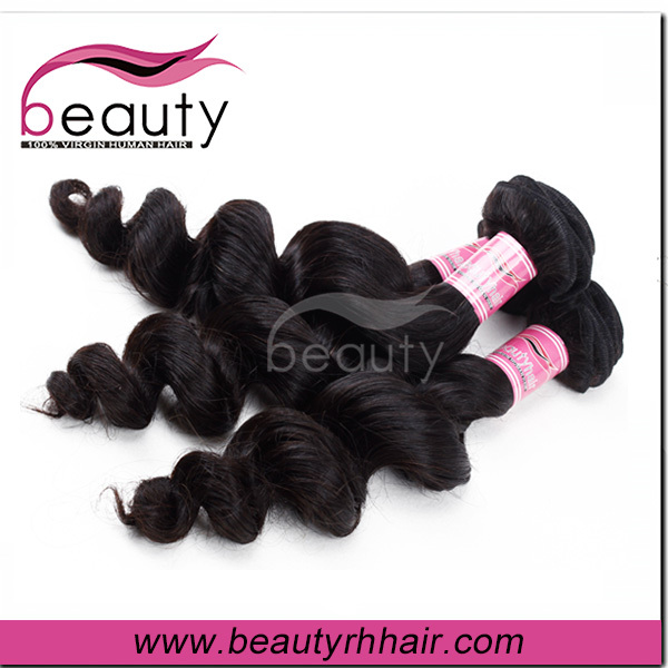 Human gray remy hair extensions wholesale china