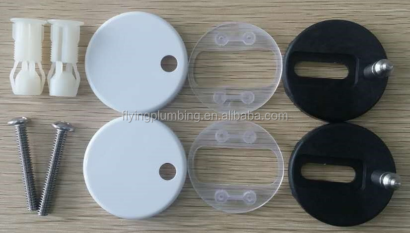 Soft closed Hinges for toilet seat