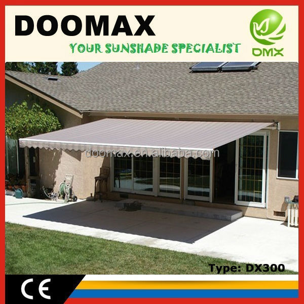 #DX300 Family Used Metal Door Awnings