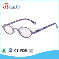 Fashion new flat lens glasses custom novelty reading glasses eyes