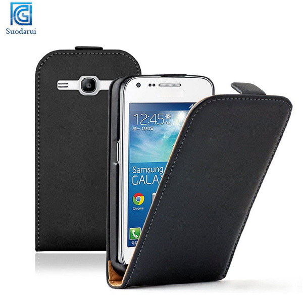 Mix colors Ultra Slim Leather Case Cover for Samsung Galaxy Core Plus SM-G350 / G3502