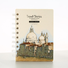 Writing pad Mini Travel Story Recycled Spiral Notebook