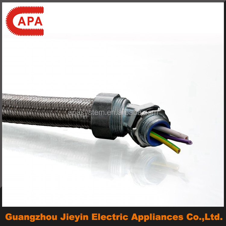 Stainless Steel Braided Metal flexible electrical conduit/hose/pipe/tube(NT707)