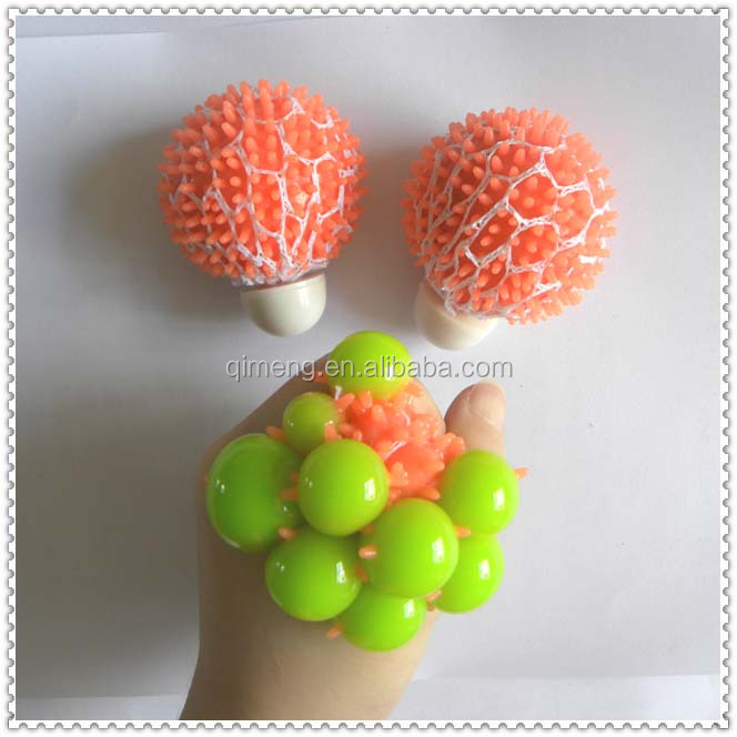 Mesh Stress Ball Magic Gel Ball Toy