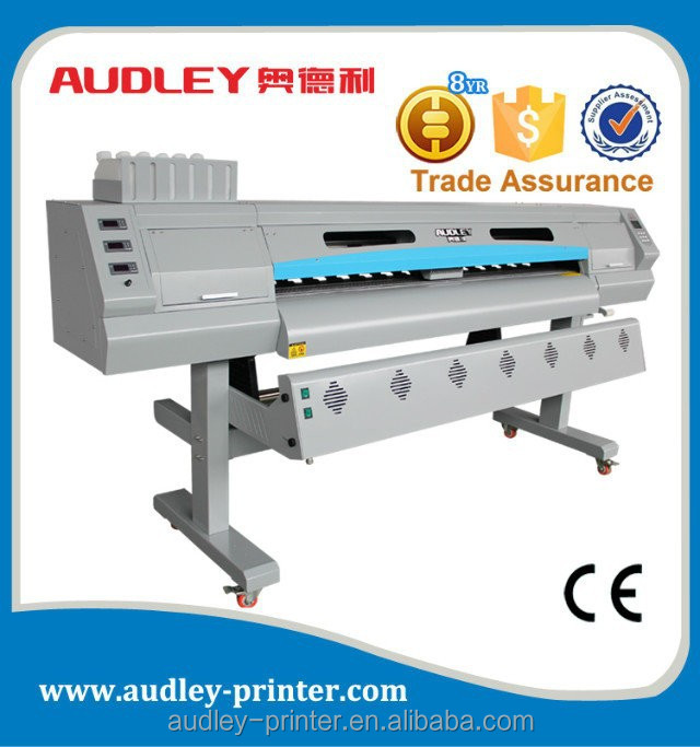 Audley 1.8m heavy duty risograph printing machine with dual Dx5 ADL-8520